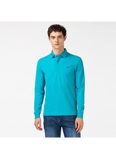Lacoste Erkek Regular Fit Tişört PH2481.HDB Yeşil
